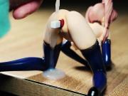 Sandy Gregore Multi-angle SoF Figure Bukkake Semen on Figure