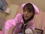 japanese nurse care her patient