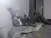 My horny mom caught by hidden cam in her bedroom
