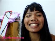 Heather Deep hula hoop creamthroat throatpie thai teen