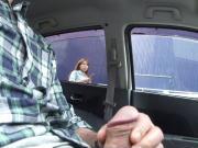 dick flash in car 3