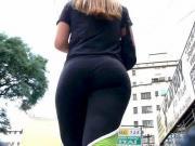 following ass in leggins