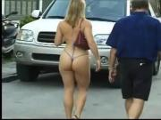 Hot thick confident lady at Fanasty Fest 2003