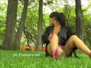 Amateur latina Beatriz public nudity and squirting