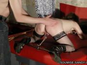 soumise sandy french bdsm submissive