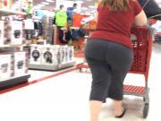 Jiggly BBW Pawg Milf in Target