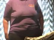 Bbw stepsister braless DDs pokies in tight tshirt