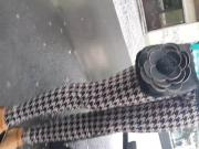 Woman in pattern leggings part 1