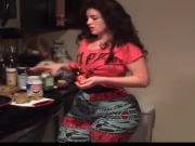 Awesome PAWG cooking