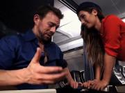 Sex in the Plane with a Gorgeous Hostess. EL