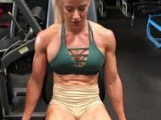 Exquisite muscular white goddess-IV