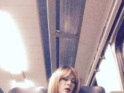 Tamara Upskirt On A Trainride