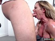 Big Wet Butts - Ninas Workout scene starring Nina Dolci and