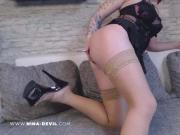 Deutsche single Frau strippt