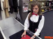 Pawning babe cocksucking pawnbroker for cash