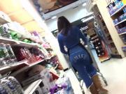 Candid - Hot Teen Store Employee NICE JUICY ASS