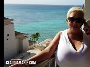 Claudia Marie Interracial Fucked In Hawaii