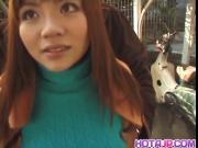 Incredibly gorgeous minx An Mizuki strips to show off her ho