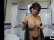 Big Breasted Cougar Deauxma Pussy Squirts During Anal Sex!