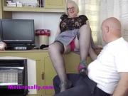 A very lucky website member visits Sally
