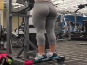 en el gimnasio