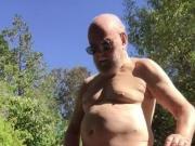 Naked outdoor cum