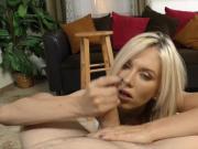 Blonde Jeanie Marie does Handjob