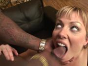 Pretty Blonde Attempts BBC Anal