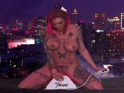 Anna Bell Peaks takes a quick ride on The Tremor