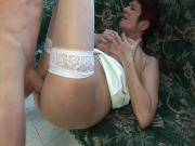Old slut needs hard cock in her ass