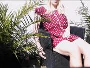 Yolana Demontfort CD TV Outdoor Strip and Breast Play