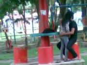 Malay Fucking in Park
