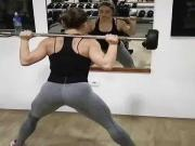Sexy Serbian bitch Tamara working out 3