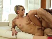 Pressley Carters gets deepthroated and drilled hard