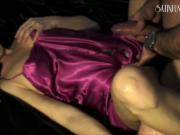 Fucking in pink satin
