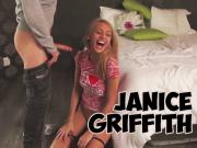 Janice Griffith getting slutty on set