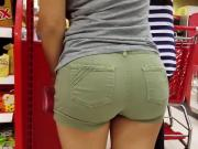 Packed Ass in Shorts