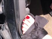 MILF Bianca Red Toes