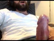 Nice cock masturbation cumshot