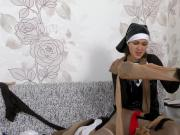 Grace Moon prays for more pantyhose perversion
