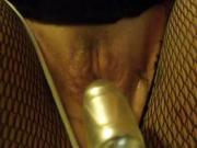 Mystery bbw made to squirt