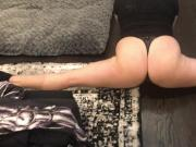Wifey FULL Splits with her big Ass