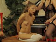 Lingerie dom punishing teens