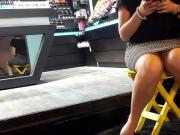 co workers sexy thick legs
