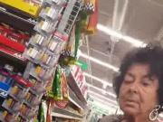 Old ass granny upskirt