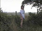 Angela strips in woods 2087 a7082690.wmv