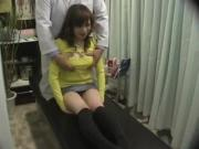 Japanese breast massage room hidden cam