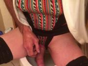 Piss drinking slut