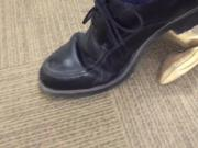Crush workmate's highheel