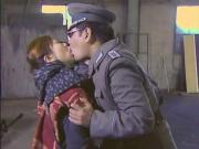 Japanese Guard Tongue Kissing All Female Inmates